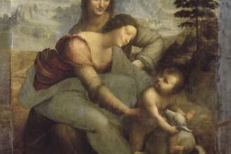 A descoperit un desen al lui Leonardo da Vinci chiar la Luvru!