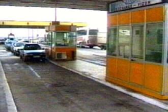 Vama Nadlac II, inchisa in urma accidentului produs in Ungaria. Traficul a fost deviat pe Nadlac I