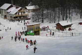 Turistii de la munte au sansa sa prinda un Craciun cu multa zapada!