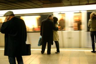 Metroul va circula in noaptea de Revelion la intervale de 20 de minute