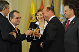 Traian Basescu, la intalnire cu Boc si Geoana despre sefia MAI
