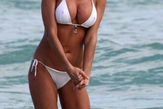 Victoria Silvstedt incinge Miami-ul