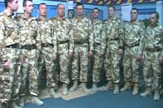 Primiti o urare si o colinda de la militarii romani din Irak!