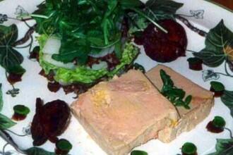 Terina de caprior si foie gras - delicatese pe masa de Paste