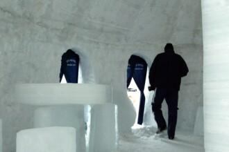 Hotelul de Gheață de la Bâlea, inaugurat astăzi, în prezența ambasadorului Canadei
