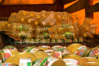 Peste 6.000 de persoane din Satu Mare primesc ajutoare alimentare de la Uniunea Europeana