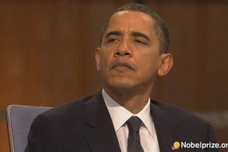 Lui Barack Obama i-a fost inmanat Premiul Nobel pentru Pace!