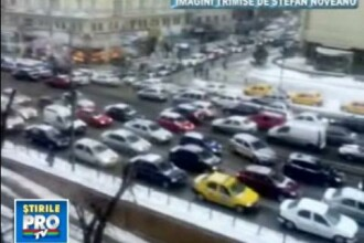 O singura zi a durat pacea in Bucuresti. Traficul de cosmar s-a intors!