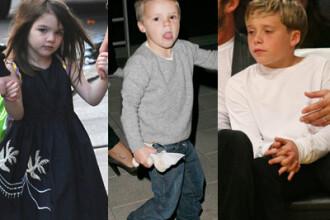 Top cei mai la moda copii de vedete. Cu Suri Cruise si baietii Beckham