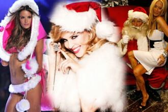Au venit sa va colinde: fetele de la Victoria's Secret, Kylie si Arnold