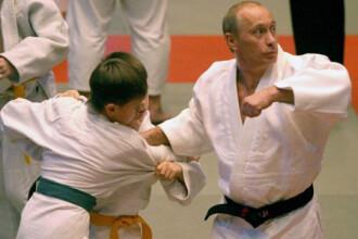 Putin si-a etalat din nou muschii! De aceasta data la judo!