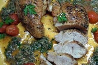 Revelatie culinara pentru 2011: curcan combinat cu porc de Mangalita