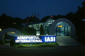 Iasi: spaima pe aeroport! Un avion plin cu pasageri a iesit de pe pista