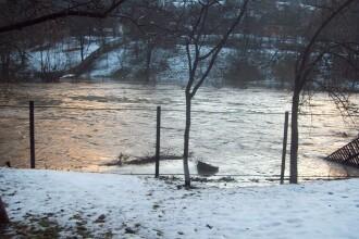 Sfarsit de an cu inundatii in nordul tarii