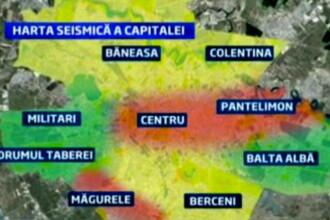 O suta de scoli din Capitala, in care invata peste 26.000 de elevi, au risc seismic ridicat