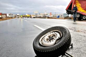 Un banal accident de circulatie a pus pe jar politistii din Ilfov. Afla motivul