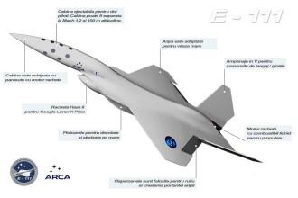 Primul avion supersonic romanesc, gata de zbor in 2013? Vezi cum arata