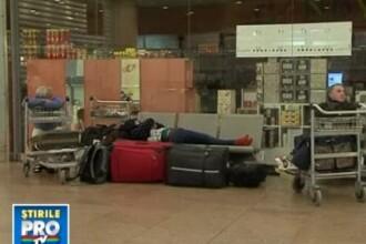 Au petrecut Craciunul in aeroport! Trafic dat pest cap in Belgia si Franta