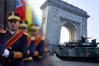 Peste 40.000 de romani, la parada militara de Ziua Nationala a Romaniei, din Capitala