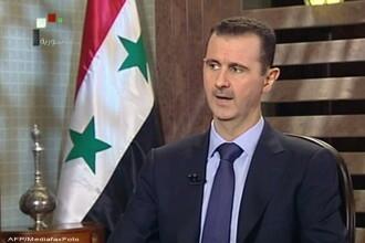Bashar al-Assad: Conflictul din Siria este alimentat din strainatate cu ajutorul teroristilor