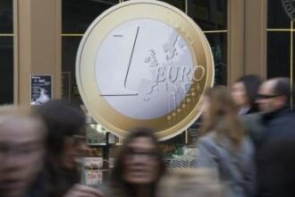 Euro, la cel mai scazut nivel din 20 septembrie. BNR a anuntat un curs de 4,2875 lei/euro