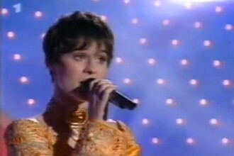 VIDEO. Malina Olinescu, la Eurovision, interpretand piesa