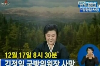 VIDEO. Moartea lui Kim Jong-il, anuntata cu lacrimi in ochi la TV.