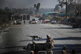 Atac impotriva consulatului american de la Herat in vestul Afganistanului