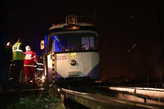 Accident tragic la Timisoara. Un barbat a sfarsit sub rotile unui tramvai