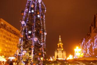 Timisoara, scaldata in culori. Peste 500.000 de beculete vor ilumina orasul de sarbatori