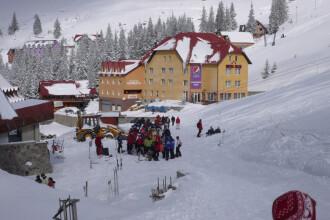 Weekend cu aglomeratie pe partiile din Banat. Zapada cazuta din abundenta i-a bucurat pe impatimitii sporturilor de iarna