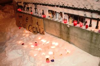 """Mi-e frig fara caciula!"" Timisorenii au protestat la Casa Muhle fata de dezinteresul autoritatilor"