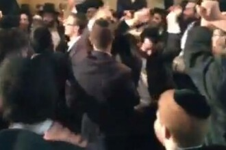 Cum s-au distrat la o nunta evreii ultraortodocsi pe Gangnam Style. VIDEO
