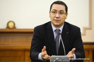 Ponta: Toti ministrii au fost pentru proiectul RMGC; Am discutat cu Antonescu toate aspectele