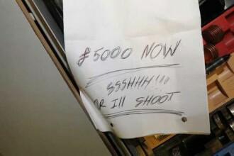 O femeie a inghetat de frica atunci cand a citit acest bilet. Ce i-a scris un barbat