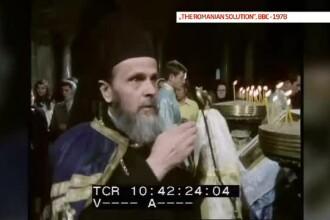 Omul lui Dumnezeu, partea II. Parintele Justinian uimea in urma cu 35 de ani Occidentul cu dovezile de traire crestina