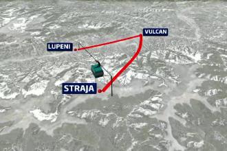 Straja, priveliste superba, telegondola moderna si, in 2 ani, cea mai lunga partie din Europa de Est