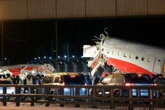 Numarul victimelor de la Moscova a ajuns la 5. Primele imagini cu echipajul dupa accident. VIDEO