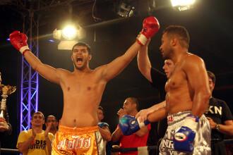 Daniel Ghita a fost facut KO in finala cu Semmy Schilt. Arbitrul a fost fluierat de intrega sala