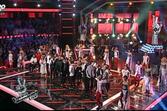 VOCEA ROMANIEI, primul show LIVE. Cine sunt concurentii eliminati din competitie