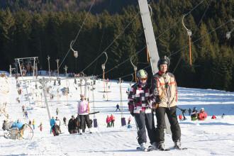 Iubitorii sporturilor de iarna au motive de bucurie. Partiile din judetul Alba, perfecte pentru schi
