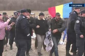 Sediile partidelor, ocupate de protestatari la Cluj. In Capitala, incidente la Avocatul Poporului