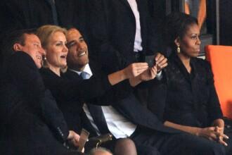 Obama, Cameron si femeia care conduce guvernul danez, intr-un