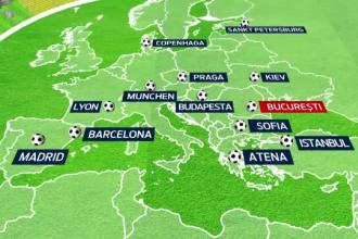 EURO 2020, declarat obiectiv de interes national. Cu cine se intrece Capitala in cursa de organizare