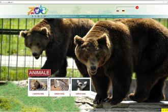 Gradina Zoologica Sibiu, promovata printr-un site nou