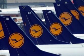 O greva a pilotilor de la Lufthansa a anulat, joi, zeci de zboruri. LISTA curselor afectate de protest