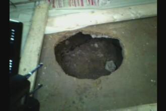 Un nou incident la Izvoarele, centrul cutremurelor. Sufrageria unei femei s-a surpat cu tot cu ea