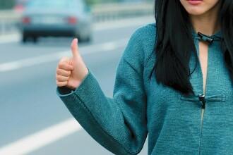 Autostopul ar putea fi interzis. Proiectul care ii va amenda pe soferii care iau pasageri la ocazie