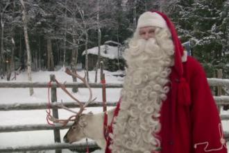 Mos Craciun, filmat acasa, in Laponia. In ce stadiu este cu pregatirile pentru sarbatori