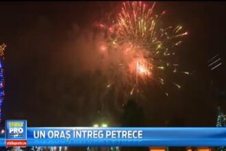 Petrecere cu artificii si un tur al orasului. Autostrada Orastie-Sibiu a fost inaugurata